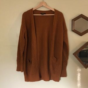 Oversized button sweater